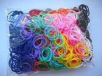 Радужные резиночки для плетения в стиле Rainbow Loom, резиночки для плетения браслетов