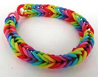 Набор резинок для плетения браслетов Rainbow Loom