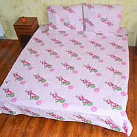 Купить хлопковый полуторный постельный комплект