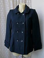Куртка женская пальто короткое легкое хлопок бренд Marks&Spencer р.46