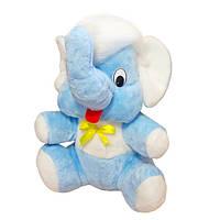 Мягкая игрушка Мамонт Федя голубой