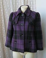 Пальто женское короткое модное бренд Dunnes р.46-48