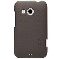 Чехол Nillkin для HTC Desire 200 коричневый (+пленка)