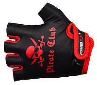 Велосипедные перчатки для детей Power Play. Черный