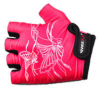 Велосипедные перчатки для детей Power Play. Розовый