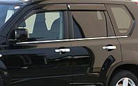 Хром молдинг стекла Nissan X-trail (х-трейл) 2011-  , нерж