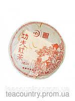 Чай шу пуэр Hong cha bing (вес 250гр.-блин, год 2013)
