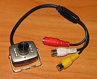 Камера для видеонаблюдения с ИК подсветкой и звуком