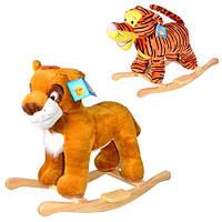 Игрушка-качалка mini lux Симба и Тигруля