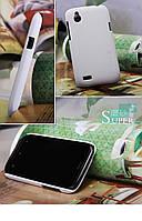 Чехол Nillkin для HTC Desire V T328w / Desire X T328e белый (+пленка)