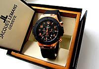 Часы наручные мужские HUBLOT черные с золотом , магазин мужских часов