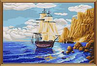 Схема для вышивки бисером В бухте БИС 0287