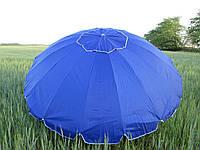 Зонт торговый круглый 3 метра в диаметре 16 спиц с клапаном