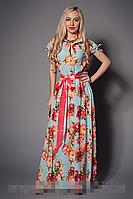 Платье мод 469-13,размер 42-44,44-46,46-48 мята (А.Н.Г.)