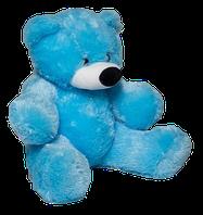 """Плюшевый мишка """"бублик"""" голубой"""