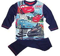 Пижама для мальчиков Тачки на 3 года