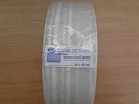 Тесьма из органзы прозрачная оптом 60мм 4 нитки