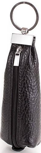 Уникальная мужская кожаная ключница DESISAN (ДЕСИСАН) SHI200-2 черный