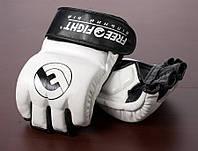 Перчатки ММА Free-Fight с защитой пальца White/Black (FF-FG-2-wb)