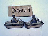 Фонарь плафон подсветка номера Фиат Добло Fiat Doblo 2006 распашонка
