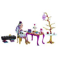 Кукла Мэделин Хэттер с Набором Чайная вечеринка (Ever After High Madeline Hatter Hat-tastic Party  Display)