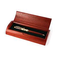 Дорогая ручка в полукруглом деревянном футляре Albero Ode 55S269