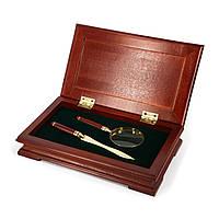 Настольный сувенирный набор увеличительная лупа и нож для открывания конвертов 77S101LG