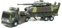 """Игровой набор """"Военная техника"""" (тягач + танк,  свет, звук) CT1061(SL556/TAНК)"""