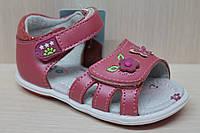 Босоножки на девочку, детская кожаная летняя обувь тм Tom.m р.22,23