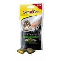 Витаминизированное лакомство для котов и кошек Gimpet Nutri Pockets Кошачья мята + Мультивитамин, 60г