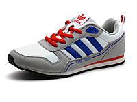 Кроссовки спортивные Adidas Power Design унисекс, кожаные, белые/ бежевые, фото 1