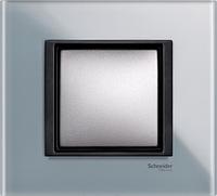 Накладка для розеток выключателей Schneider electric Unica class матовое стекло