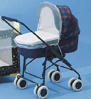 Москитные сетки на коляску (цвета в ассортименте)