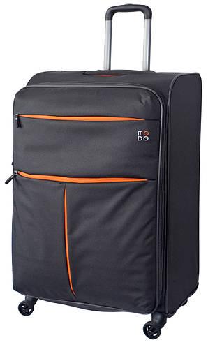 Вместительный тканевый чемодан-гигант 4-х колесный 115/130 л. Roncato Modo Air 5321/22 антрацит(серый)