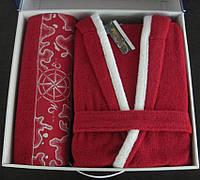 Набор женский халат + полотенце Altinbasak Pasific 1351109
