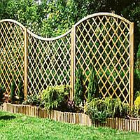 Прозразный забор