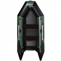 Лодка пвх под мотор 5 л.с AquaStar D-275 FSD зеленая