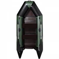 Двухместная надувная лодка AquaStar D-275 FFD зеленая