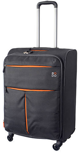 4-х колесный вместительный тканевый чемодан 70/80 л. Roncato Modo Air 5322/22 антрацит(серый)