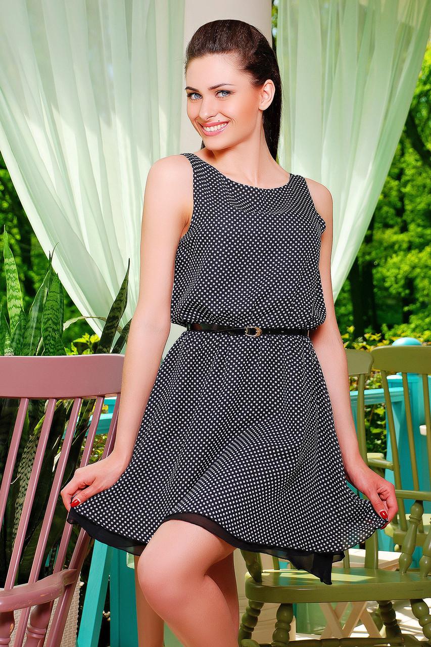 Прямое платье без талии