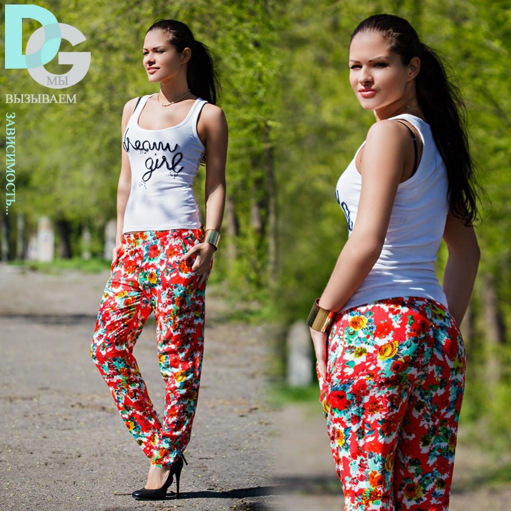 Летние брюки больших размеров женские с доставкой