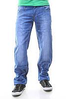 Джинсы мужские голубые летние
