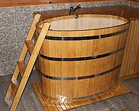 Бочка купель для бани дубовая  900*1600*1000 мм.