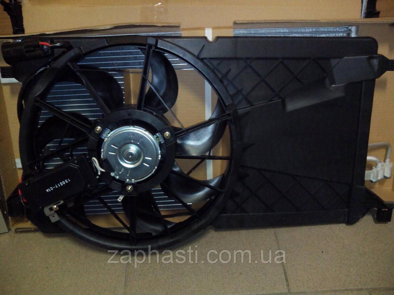 вентилятор охлаждения форд фокус 2