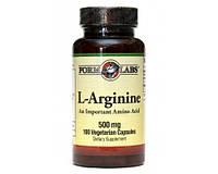 Аргинин FORM LABS PRO Line L-Arginine 500 мг 100 cap