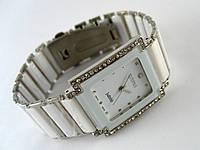 Мужские часы RADO, cristal, керамические, серебристо белые