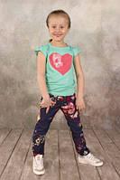 Детская футболка для девочки (от 2-х до 7 лет) (КАР 03-00581-0)