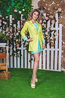 Костюм Платье с воланами и пиджак