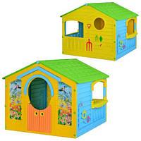 Домик детский садовый ТМ MARIAN PLAST арт. 560