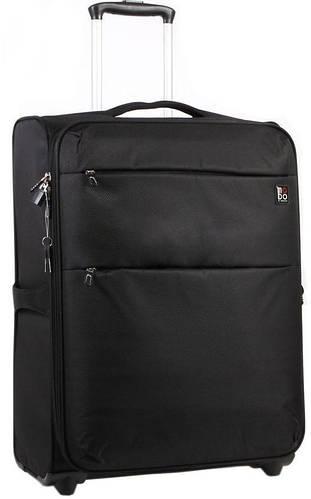 Практичный тканевый чемодан 2-х колесный 60/67 л. Roncato Modo cloud 425002/01 черный